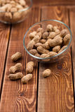 The peanut in a bowl Stock Image