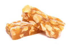 Peanut brittle Royalty Free Stock Photo