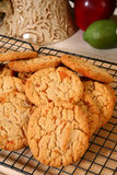 Peanut Brittle Candy Cookies Stock Image