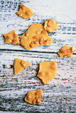 Peanut Brittle Stock Photography