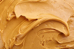Peanut butter background Stock Photo