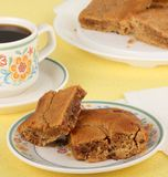 Peanut Butter Bar Dessert Royalty Free Stock Photography