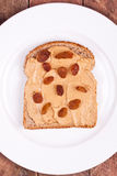 Peanut butter bread Stock Photo