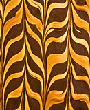 Peanut butter and chocolate pattern Royalty Free Stock Images
