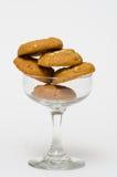 Peanut Butter Cookie. Closeup Peanut Butter Cookie Stock Photos