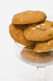 Peanut Butter Cookie. Closeup Peanut Butter Cookie royalty free stock photo