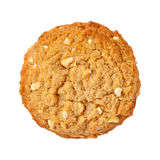 Peanut Butter Cookie isolated. On a white background. The isolation is on a transparent background in the PNG format royalty free stock photography