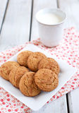 Peanut butter cookies Stock Photos