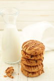 Peanut butter cookies. Stock Photos