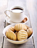 Peanut butter cookies Royalty Free Stock Photography