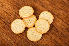 Peanut Butter Crackers Royalty Free Stock Photography
