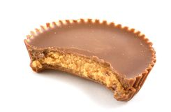 Peanut Butter Cup Stock Photography