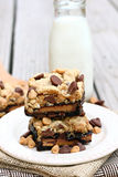 Peanut Butter Cup Brownies Royalty Free Stock Photography