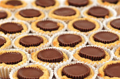 Peanut Butter Cup Cookies Stock Photos