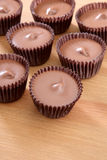 Peanut butter cups Stock Photography