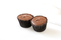 Peanut butter cups Stock Image