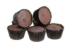 Peanut Butter Cups Group Royalty Free Stock Image
