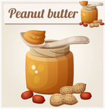 Peanut butter. Detailed Vector Icon Royalty Free Stock Photography