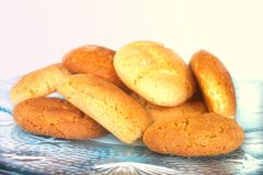 Peanut butter and ginger cookies Royalty Free Stock Images