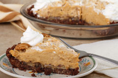 Peanut Butter Pie Stock Image