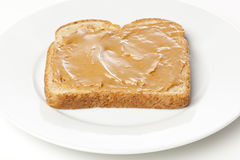 A peanut butter sandwhich Royalty Free Stock Photos