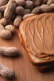 Peanut butter sandwich Royalty Free Stock Photo