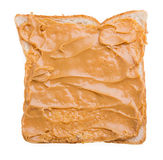 peanut butter sandwich and bread Stock Photo