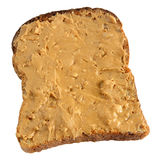 Peanut butter spread. Royalty Free Stock Image
