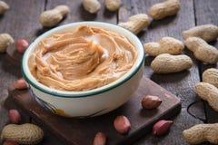 Peanut butter spread Stock Image