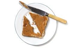 Peanut Butter Toast Stock Image