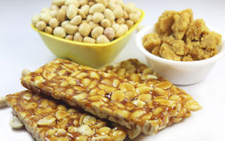 Peanut candies Stock Image