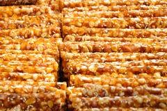 Peanut candy Stock Image