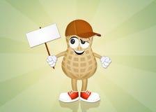 Peanut cartoon Royalty Free Stock Photo