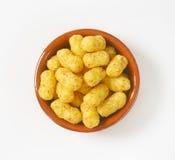 Peanut crisps Stock Photos