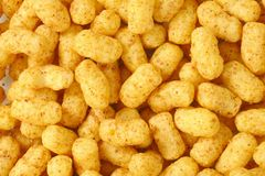 Peanut crisps Stock Image