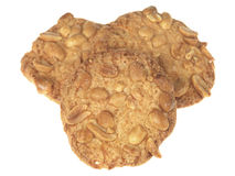Peanut Crunchy Biscuits Royalty Free Stock Image