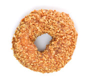 Peanut donut Royalty Free Stock Images
