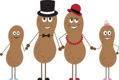 Peanut Family Stock Photo