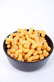 Peanut flips. In a bowl Stock Photography