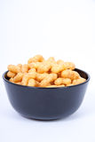 Peanut flips. In a bowl Stock Photo