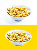 Peanut Flips - Isolated. Peanut flips isolated on white background ( clipping path provided Royalty Free Stock Images