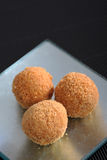 Peanut fritters. Ready to be serve Royalty Free Stock Images