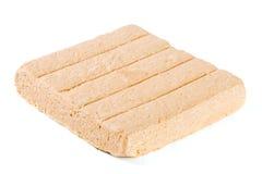 Peanut halva isolated on white background Stock Image
