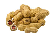 Peanut heap Stock Images