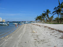 Peanut Island. In Palm Beach County, Florida is a popular recreational hangout for locals royalty free stock photography