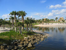Peanut Island. Is a small, but popular, island located in West Palm Beach, Florida stock photos
