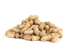 Peanut isolated Royalty Free Stock Images