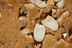 Peanut and jaggery sweet Stock Photo