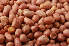Peanut kernels. The background of peanut kernels Stock Photography