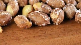 Peanut Macro View. Food Ingredient Healthy and Energy video stock video footage